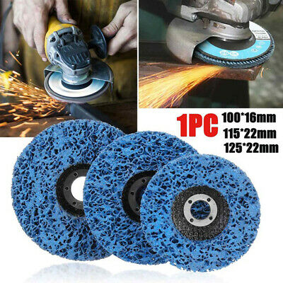 3X 100/115/125mm Abrasive Grinding Wheel Disc Paint Rust Remover For Truck -UK • 10.55£