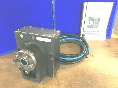 PTG 125 Precision Speed Indexer CNC 4th Axis Workholding Dividing Head • 500£
