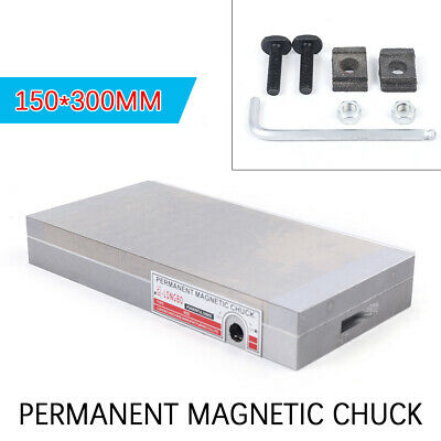 6 X12  Permanent Magnetic Chucks Industrial Stainless Steel Rustless • 107£