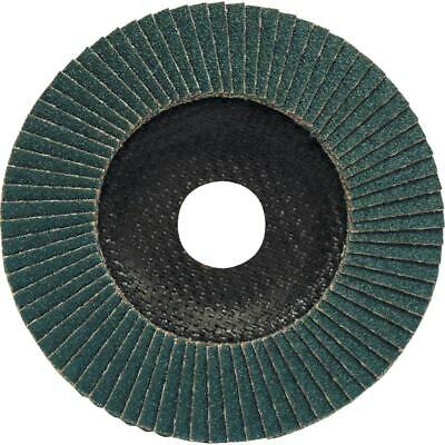 York 115X22MM F/Glass Zirc Flap Disc P60- You Get 100 • 281.65£