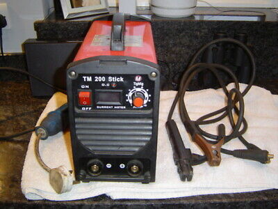 Inverter Welder TM 200 Stick 240v Little Use • 25£