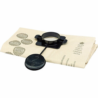 Draper Dust Bags For WDV35LMC Wet And Dry Vacuum Pack Of 5 • 51.95£