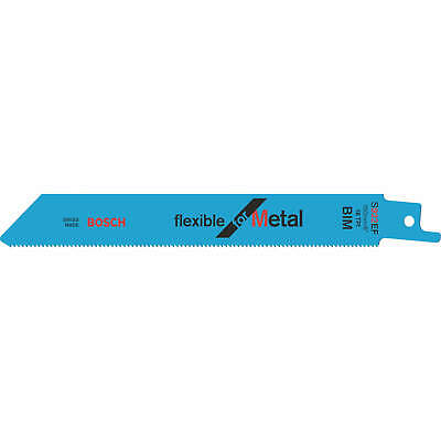 Bosch S922EF Metal Cutting Reciprocating Saw Blades Pack Of 100 • 198.95£
