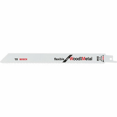 Bosch S1022HF Wood And Metal Cutting Reciprocating Saw Blades Pack Of 100 • 241.95£
