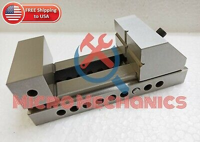 3'' Screwless Tool Making Grinding Precision Ground Vise .0002  Square Parallel • 79.25£