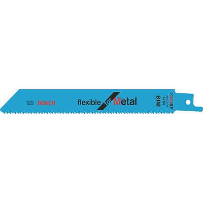Bosch S922BF Metal Cutting Reciprocating Saw Blades Pack Of 100 • 202.95£