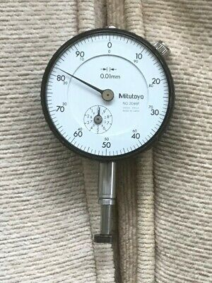Mitutoyo Dial Indicator 50mm Dia Metric No.2046F • 24£