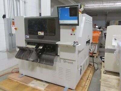 Universal Advantis 4984B AX-72E Pick And Place Machine 7 Spindle Flex Jet AC-30L • 56,679.58£