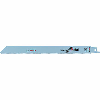 Bosch S1025VF Metal Cutting Reciprocating Saw Blades Pack Of 25 • 109.95£