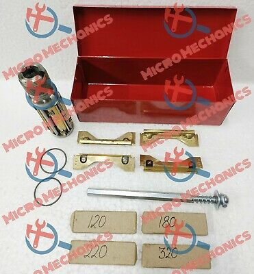 METAL BOXED Cylinder Hone /Glaze Buster 1.3/8  To 2.1/4  + 16x Stones HEAVY DUTY • 57.52£