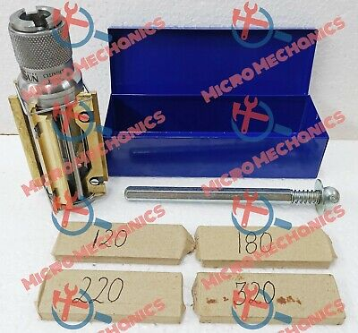 MOTORCYCLE , ATV SMALL BLOCK CYLINDER HONE KIT 50 MM To 75 MM + 4 SETS STONES • 69.75£