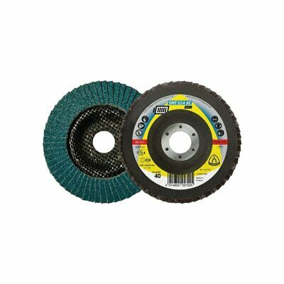 Klingspor SMT 524 AC ACCU 115MM Zirconia Alumina Conical Flap Disc For Cordless  • 4.39£