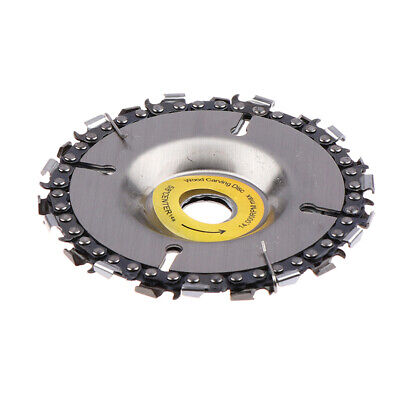 4 Inch Grinder Disc And Chain 22 Tooth Fine Abrasive Cut Chain For 100/115 AnHMJ • 9.68£