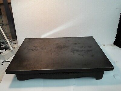 Vintage Windley Bros Chelmsford 18'' X 12'' Surface Plate 30 Kgs Collect LE19 • 31£