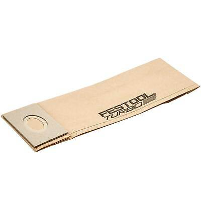 Festool Turbo Filter Dust Bag For Festool Sanders TF II-RS/ES/ET Pack 5 • 13.95£
