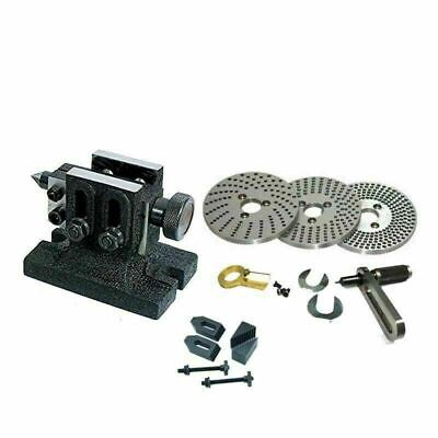 Lathe Adjustable Tailstock With Indexing Plate Set And Clamping Kit Set For HV6 • 94.37£