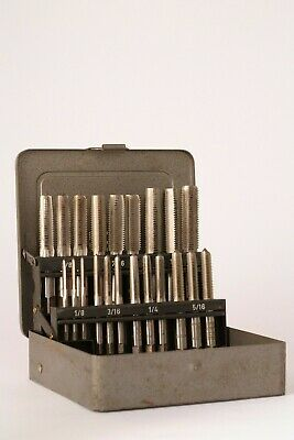 Presto HSS BSF 1/8, 3/16, 1/4, 5/16, 3/8, 7/16 And 1/2 Inch Tap Set • 15£
