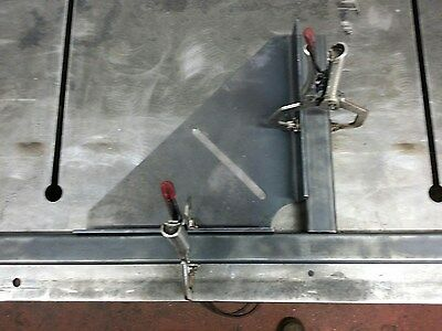 The ORIGINAL Large Welding Clamp 300mm X 300mm (laser Cut And Precision Folded) • 17.50£