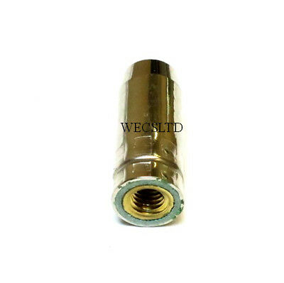 MB14 Conical MIG Welding Nozzle/Shroud 38mm(A34) Or 45mm(A4) Long M8 Screw Fit  • 9.50£