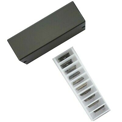 7.6mm Reversible Knives Solid Carbide Tips To Suit Leuco 052543 • 13.54£
