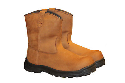 Red Wing 9 Inch Pull-on Safety Boot (3274) Size 13 • 49£