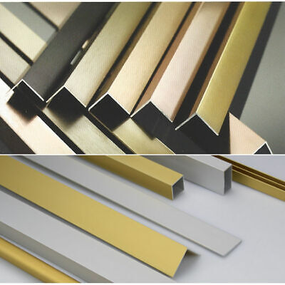 20mm X 20mm Aluminium Angle 2000mm & 1000mm Lengths Various Finishes • 5.50£
