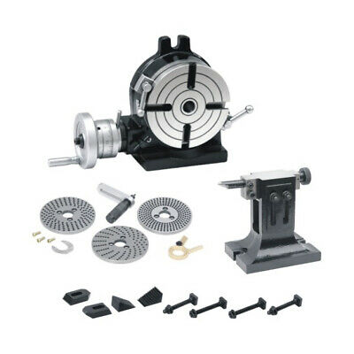 New Rotary Table 8 / 200mm Kit,Dividing Plates Mechanism Set,Tail Stock & Clamps • 539.99£
