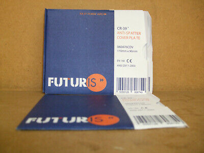 Futuris Auto Darkening Welding Helmet Clear Cover Outer Lens X Pack Of 10 • 13£