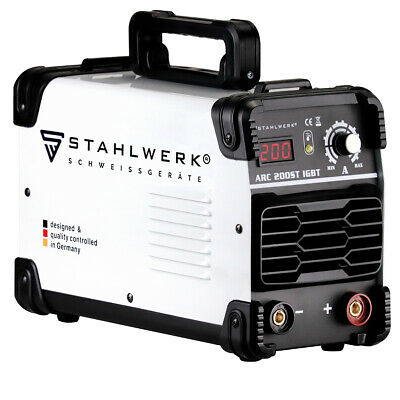 Welder STAHLWERK ARC 200 ST IGBT - STICK MMA Welding With 200 Ampere • 239£