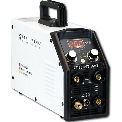 TIG Welder STAHLWERK CT 550ST With PLASMA CUTTER - IGBT Inverter Welding Machine • 429£