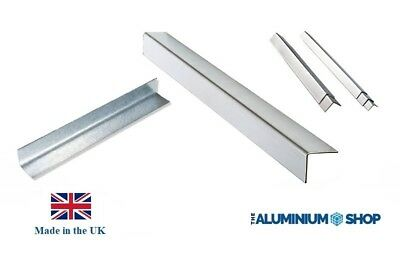 Galvanised Steel Angle -  50mm X 50mm - 2mm Thick Angle • 12.99£