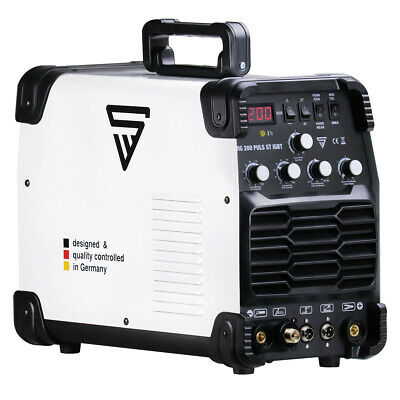 Welder Stahlwerk Tig 200 Pulse St - Welding Machine Dc Hf Inverter Professional • 399£