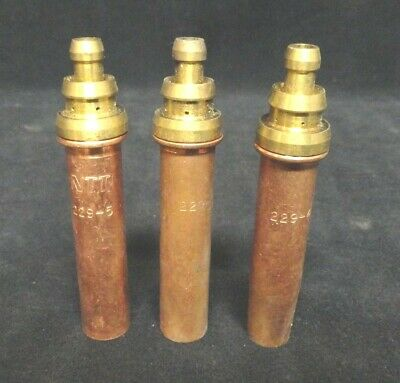 Welding Nozzle - Cutting Tip - (mixed Lot Of 3) - (1) 229-4 & (2) 229-5 - Used • 14.42£