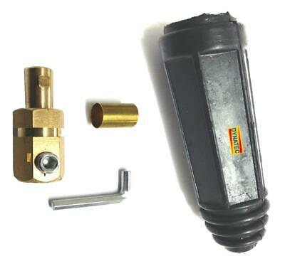 Male Welding Cable Dinze Type Plug Probe 50mm - 70mm Dinse Connector Din Mig Arc • 4.59£