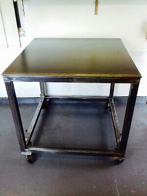 Welding Table - 1000mm X 1000mm - Free UK Delivery • 550£