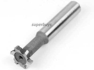 16mm X 3mm HSS 6 Flute T-Slot Milling Cutter Mill End Metalworking Drilling Tool • 16.04£