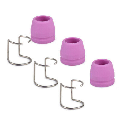 3XSpacer Guide+Shield Cup Fit For Plasma Cutter Cut Torch WSD-60P SG-55 AG-60 Je • 4.93£