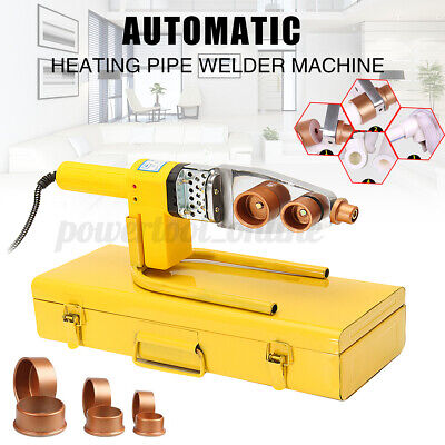 Full Automatic Electric Heating Tool PPR PE PP Tube Pipe Welding Machine  • 28.73£