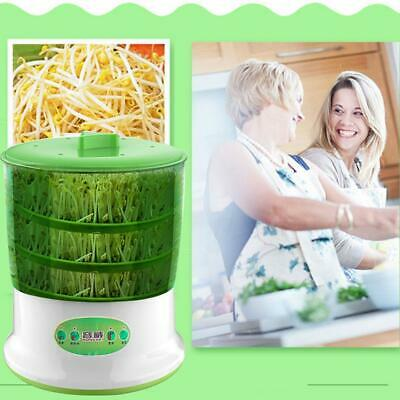Household Vegetable Bean Sprouts Growing Automatic Sprouter Machine Portable • 22.37£