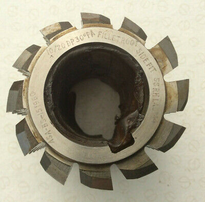 Gear Cutting Hob 10/20DP 30pa Fillet Root Side Fit By Tay Tools • 75£