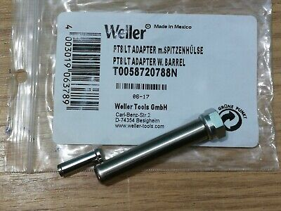 Weller T0058720788N PT8 - LT 425°C Adaptor With Barrel For All TCP/FE 50M Irons • 10£