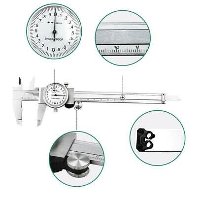 Metric Gauge Precision Dial Vernier Caliper Measuring Tool 0-150mm Shock-proof • 15.95£