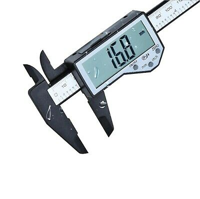 KATSU Fiber Carbon Digital Vernier Caliper Large Screen IP54 150mm Water Spla... • 23.54£