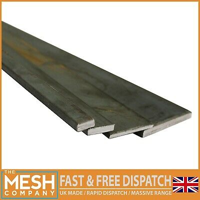 Bargain Mild Steel Flat Bar 3mm To 20mm Thickness Solid Metal Flat Stock • 24.90£
