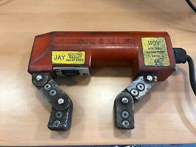 110v MPI Yoke Johnson And Allen Working, PAT Tested But Requires Calibration • 125£