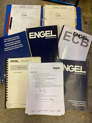 ENGEL Engineer Service Maintenance Manuals, Thermo Plastic Injection Moulding • 70£