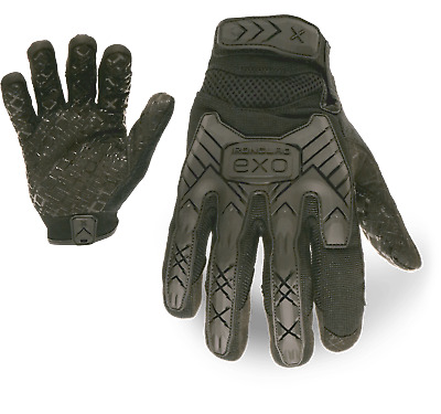 IronClad EXOT-GIBLK Tactical Grip Impact Protection Glove - Select Size • 14.84£