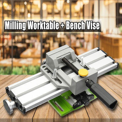 Multifunction Milling Machine Worktable + Bench Vise Repair Mechanic 2  H • 58.41£