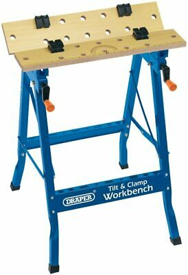 Draper 600mm Tilt And Clamp Fold Down Work Bench • 45£