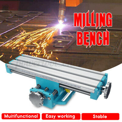 Aluminum Pro Multifunctional Milling Bench Drill Ing Vise Machine   • 73.64£